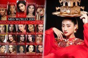 Trước giờ G Chung kết: Lương Thùy Linh được dự đoán lọt Top 6, Ấn Độ là Miss World 2019