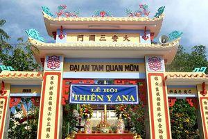 Đến đền Am Chúa tạ ơn nữ thần Thiên Y A Na