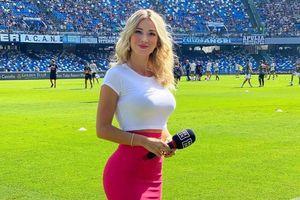 Những nữ phóng viên thể thao gây chú ý trên mạng xã hội
