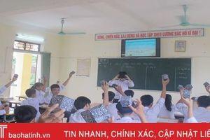 Học đi đôi với hành, bước đệm thực hiện chương trình phổ thông mới ở Hà Tĩnh