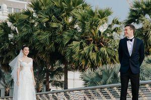MC Hoàng Oanh tiết lộ 'bí mật chưa bật mí' về mối tình với chồng Tây