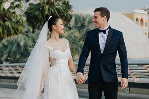 MC Hoàng Oanh chia sẻ về những lần đầu tiên đầy lãng mạn và ngọt ngào với chồng Tây