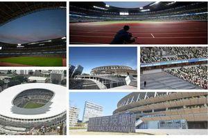 Cận cảnh sân vận động quốc gia gần 1,5 tỷ USD của Nhật Bản vừa được khánh thành