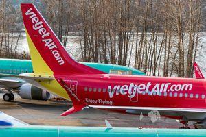 Hình ảnh đầu tiên về Boeing 737 MAX 8 của Vietjet Air