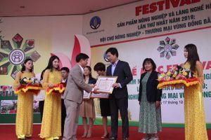 Giao thương hàng hóa tại Festival sản phẩm nông nghiệp và làng nghề Hà Nội đạt trên 6,6 tỷ đồng