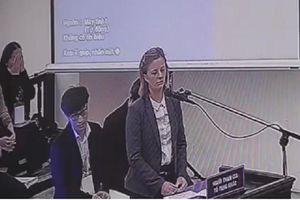 Vợ ông Phạm Nhật Vũ: 'Chồng tôi nhận thức pháp luật... không để Nhà nước thiệt hại'
