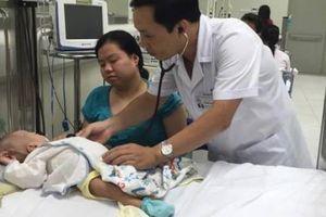 Hàng trăm trẻ nhập viện vì bệnh hô hấp, cha mẹ chú ý điều này