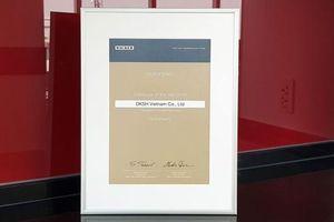 DKSH đạt giải thưởng 'Nhà phân phối của năm' từ WACKER
