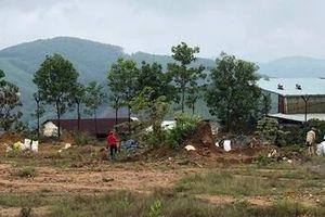 Nhiều đối tượng đột nhập khu Bồng Miêu khai thác trộm vàng