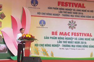Hơn 15.000 lượt người tham quan, mua sắm tại Festival sản phẩm nông nghiệp và làng nghề Hà Nội