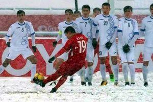 'Cầu vồng trong tuyết' của Quang Hải có cơ hội thắng giải bàn thắng biểu tượng
