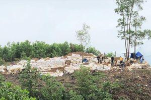 Cắt rào, đào hầm đột nhập mỏ vàng Bồng Miêu để khai thác trộm