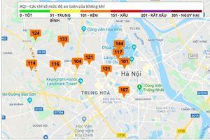 Chất lượng không khí Hà Nội đã được cải thiện