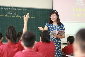 Hà Nội thi tuyển 418 chỉ tiêu giáo viên