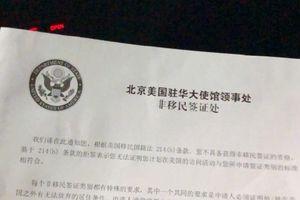 Mỹ ra tay thực thi Luật Dân chủ và nhân quyền Hồng Kông, từ chối cho quan chức Thời báo Hoàn cầu Trung Quốc nhập cảnh