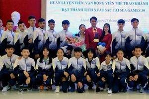 Khánh Hòa thưởng 100 triệu cho VĐV đoạt 3 Huy chương vàng SEA Games 30
