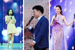 Phạm Thu Hà, Hoàng Quyên, Vũ Thắng Lợi hát mừng VietNamNet 22 tuổi