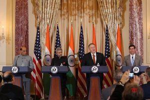 Đối thoại 2+2 Mỹ - Ấn Độ: Bắt tay chặt để gặt hái nhiều