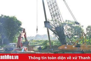 Đẩy nhanh tiến độ thực hiện dự án đường từ trung tâm TP Thanh Hóa đi Cảng Hàng không Thọ Xuân