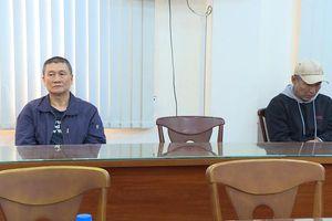 Hai người Đài Loan trốn truy nã ở Sài Gòn bị bắt giữ