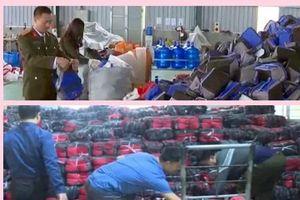 Bắt giữ gần 45.000 túi giữ nhiệt nguồn gốc Hồng Kông giả nhãn mác 'Made in Vietnam'