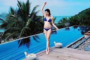Mang bầu lần 3, Di Băng thoải mái khoe loạt ảnh diện bikini ở tháng thứ 6 thai kỳ 'đốt mắt' người nhìn
