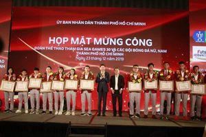 TP.HCM vinh danh VĐV, HLV đạt thành tích cao tại SEA Games 30
