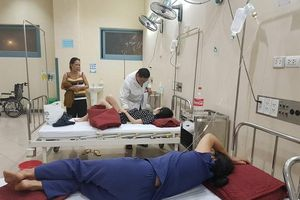 Nam Định: Nghi ngộ độc món giò xào, 13 người cùng xóm nhập viện