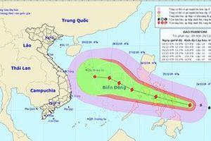 Lực lượng CAND chủ động ứng phó với bão Phanfone