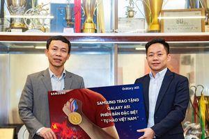 Samsung tặng Galaxy A51 phiên bản đặc biệt cho đội tuyển bóng đá nam và nữ Việt Nam