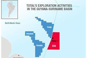 Total thâu tóm nửa khối thăm dò ngoài khơi Suriname