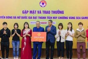 Công ty CP Quốc tế Bảo Hưng thưởng đội tuyển bóng đá nữ Việt Nam 300 triệu đồng
