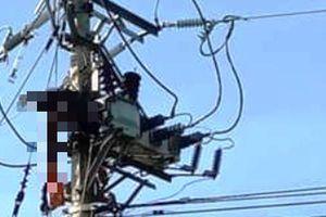 Sửa chữa điện để đón Tết, 1 công nhân bị điện giật tử vong trên trụ
