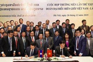 Cuộc họp thường niên lần thứ 29 giữa Đoàn đại biểu biên giới Việt Nam – Lào