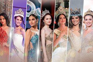 Final Walk của 7 hoa hậu quốc tế năm 2019: Hương Giang đẹp rực rỡ - Phương Khánh gây thương nhớ