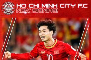 CLB TP Hồ Chí Minh chính thức công bố số áo của Công Phượng