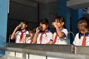 Nước sạch đến với học sinh