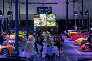 Lamborghini London tổ chức tiệc tất niên 'có một không hai'