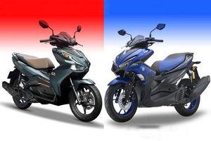 So sánh Honda Air Blade 150 với Yamaha NVX 155