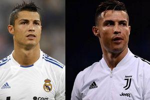 Ronaldo và các ngôi sao thay đổi ngoại hình ra sao sau 10 năm