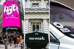 Khủng hoảng của WeWork, Uber và năm thảm họa của kinh tế chia sẻ