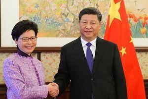 Thông điệp năm mới của Tập Cận Bình, Carrie Lam về Hồng Kông