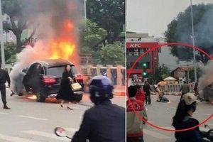 Cứu người mắc kẹt khỏi xe Mercedes bốc cháy: Tại sao CSGT được khen, dân lại không?