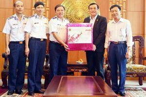 Bộ Tư lệnh Cảnh sát biển Việt Nam chúc Tết tỉnh Quảng Nam, Quảng Ngãi