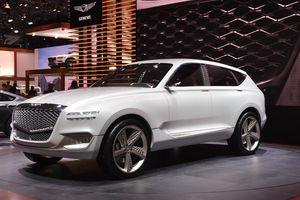 Hyundai sắp 'trình làng' mẫu xe SUV Genesis GV80