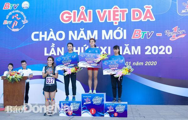 Giải việt dã chào năm mới - BTV Number One năm 2020: Đồng Nai giành hạng ba đồng đội nam, nữ hệ tuyển