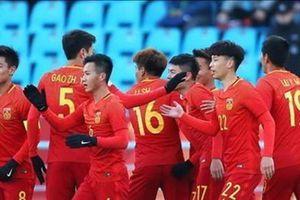 CĐV Hàn Quốc: 'Tuyển U23 Trung Quốc toàn cầu thủ vô danh'