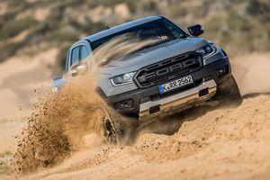 Ford Ranger Raptor sẽ thêm phiên bản động cơ V8 mạnh hơn 400 mã lực