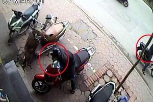Tìm người bị trộm mất xe máy ở các quận nội thành