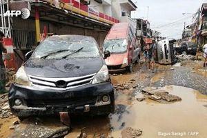 53 người đã thiệt mạng trong đợt mưa lũ kinh hoàng tại Jakarta